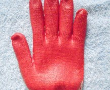 Găng tay phủ cao su 60g