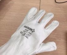 Găng tay da hàn tig D232