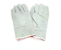 Găng tay da thợ hàn ngắn 2 lớp – có lót trong