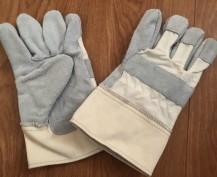 Găng tay da hàn kết hợp vải bố 2 lớp